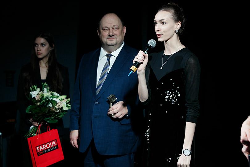 Церемония вручения премии Royal People Awards. Ольга Смирнова (прима Большого театра) иСергей Семенко