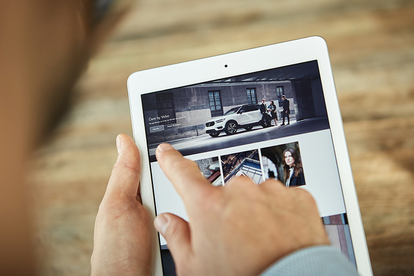 Cars with Jan Coomans. New Volvo XC40 launch— the first car you can subscribeto?