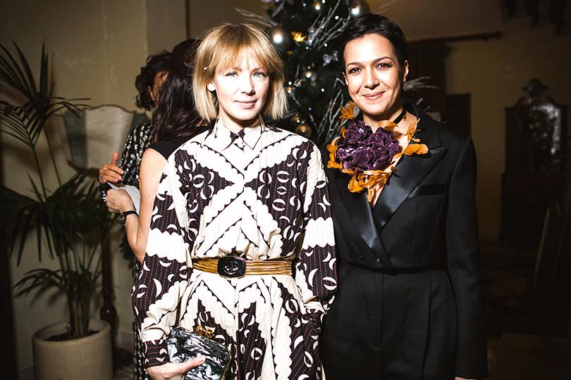 Вика Газинская и Ксения Чилингарова