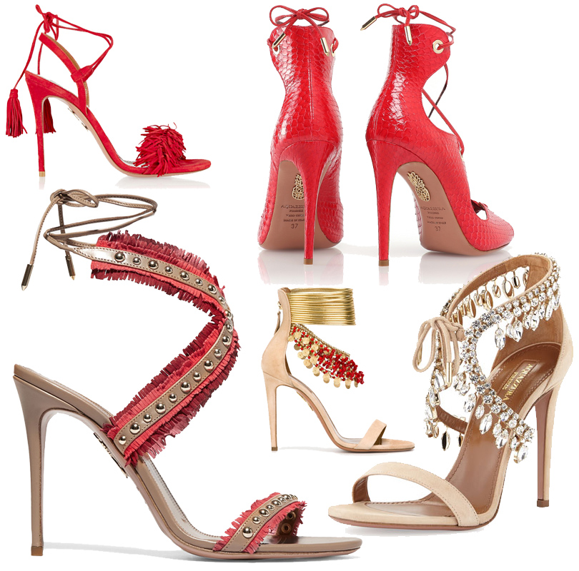 Shoes & Bags Blog: удобный шопинг с Aquazzura