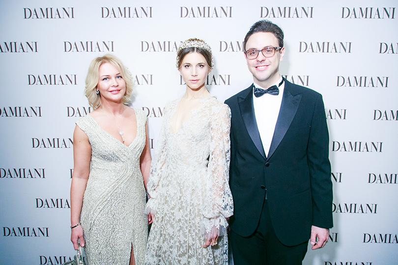 Александра Пушнова, Николетта Романофф и Франсуа Брендле (Julius Bar)