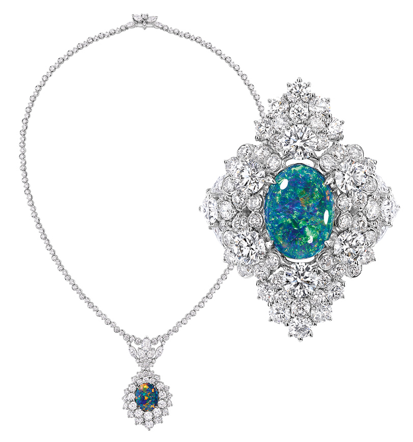 Часы &Караты: Dior etd'Opales— магия опала вколлекции Dior Joaillerie