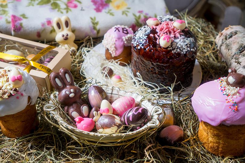 Пасха вмосковских ресторанах: необычные куличи, подарочные корзины ипраздничное меню. Beriozka