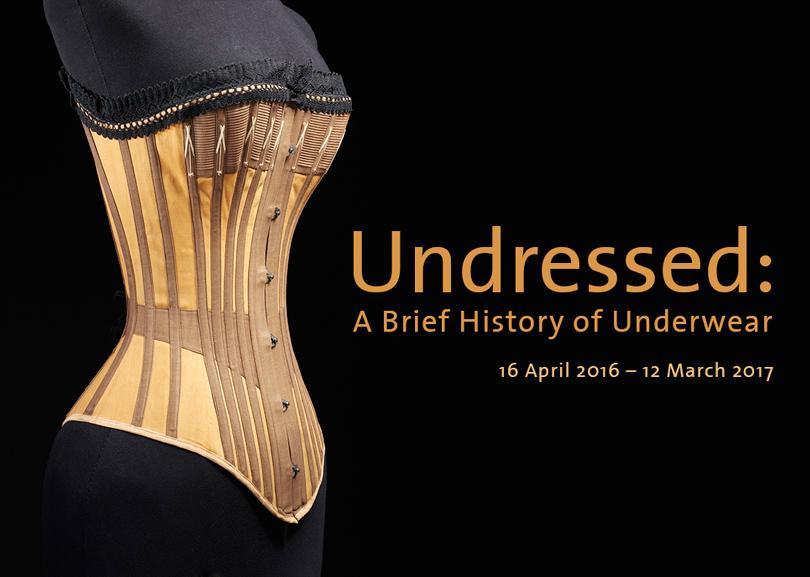 Getting Undressed: история нижнего белья.  Музей Виктории и Альберта, Лондон