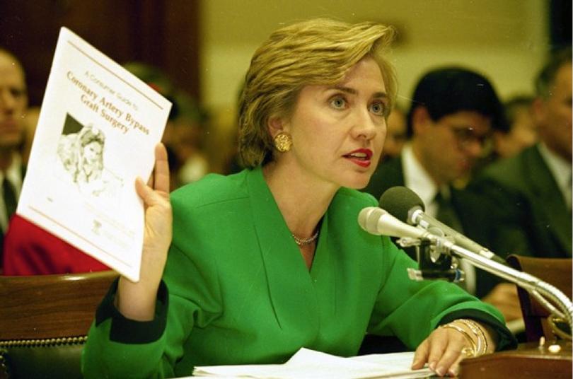 Хиллари Клинтон (1993г.)