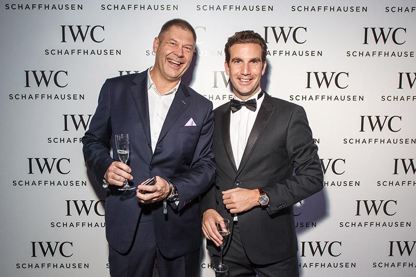 Презентация новой женской коллекции часов IWC Schaffhausen DaVinci врамках Mercedes-Benz Fashion Week Russia.