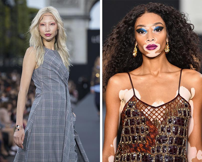 Напоказе L'Oréal Paris: Су Джу Пак. Винни Харлоу