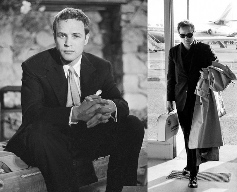 Men in Style: модная легенда Марлон Брандо. 1955, 1959
