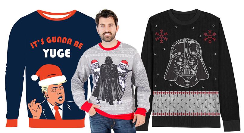Новый год. Men inStyle: 9идей подарка для мужчины совкусом. Традиционный рождественский свитер свашим дизайном, Ugly Christmas Sweaters
