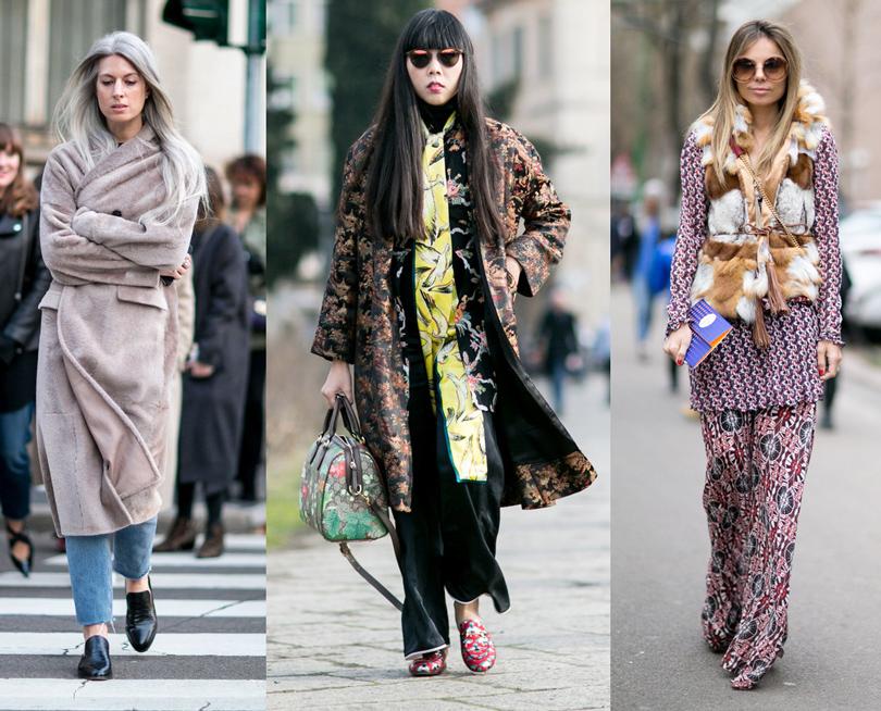 Лучшие образы street style на Неделе моды в Милане: Редактор Сара Харрис, модный блогер Сьюзи Лау, модный редактор Эрика Пелосини