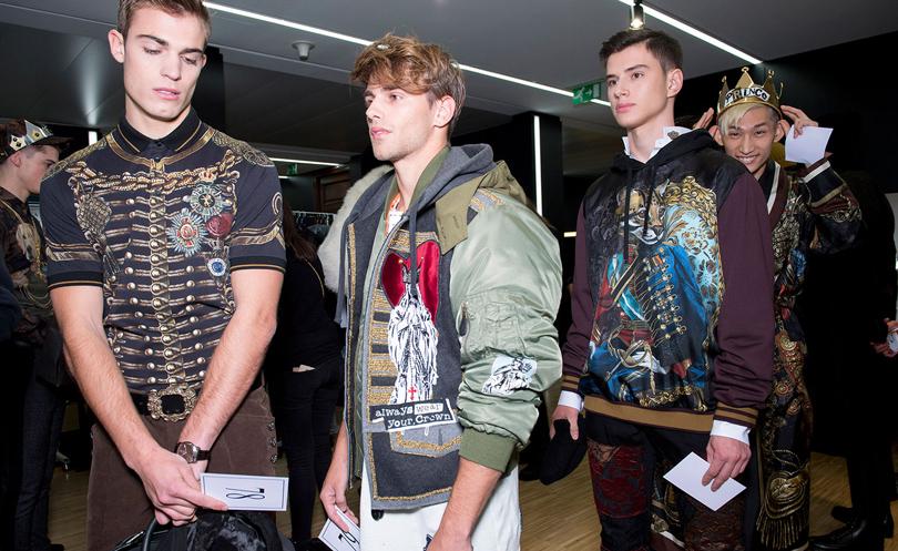 #PostaMillennials: дети звезд захватили Милан. Мужской показ Dolce &Gаbbana