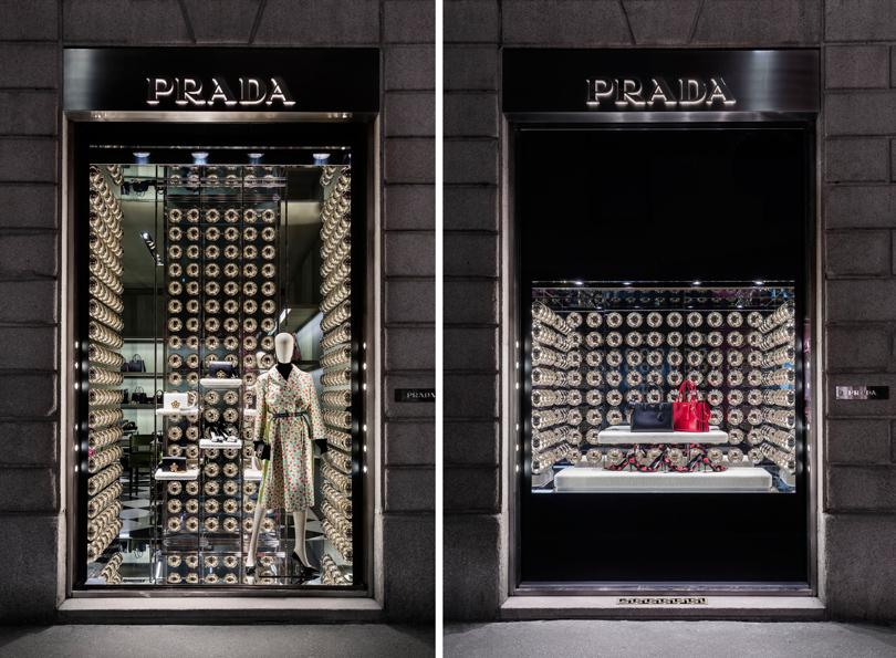 Новый год: праздник кнам приходит— самые красивые рождественские витрины мира. Prada