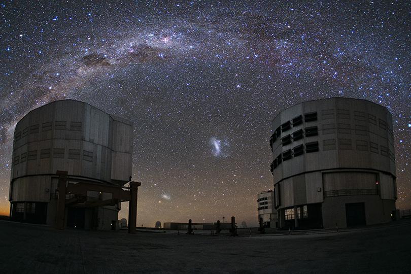 Идея для путешествия: астрономические обсерватории, вкоторые открыт доступ туристам. Паранальская обсерватория, Чили, высота 2635 метров