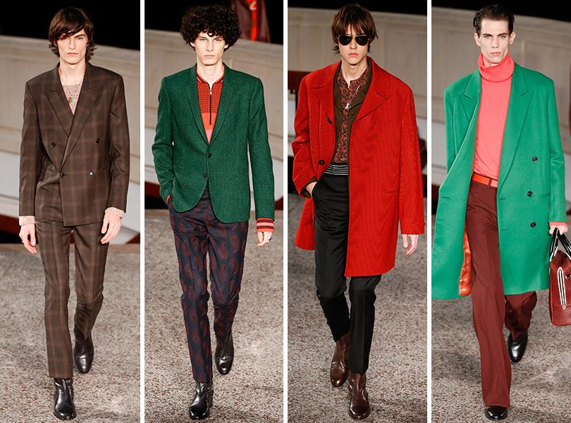 Paul Smith. Men in Style: первый план. Лучшие показы с Недели мужской моды в Париже