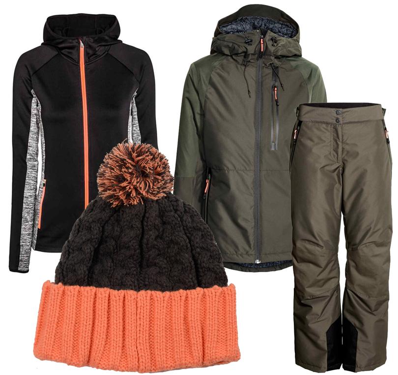 Style Notes: 8стильных образов для горнолыжного курорта налюбой вкус ибюджет. Жакет, брюки итолстовка— все H&M, шапка Celtek
