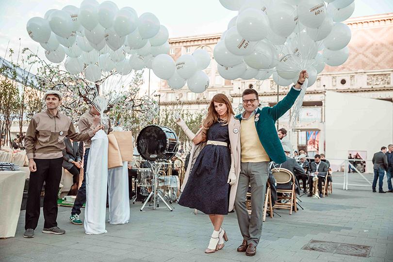 КиноТеатр: «Современник» отметил юбилей на Триумфальной площади. Ольга Цыпкина и Константин Андрикопулос