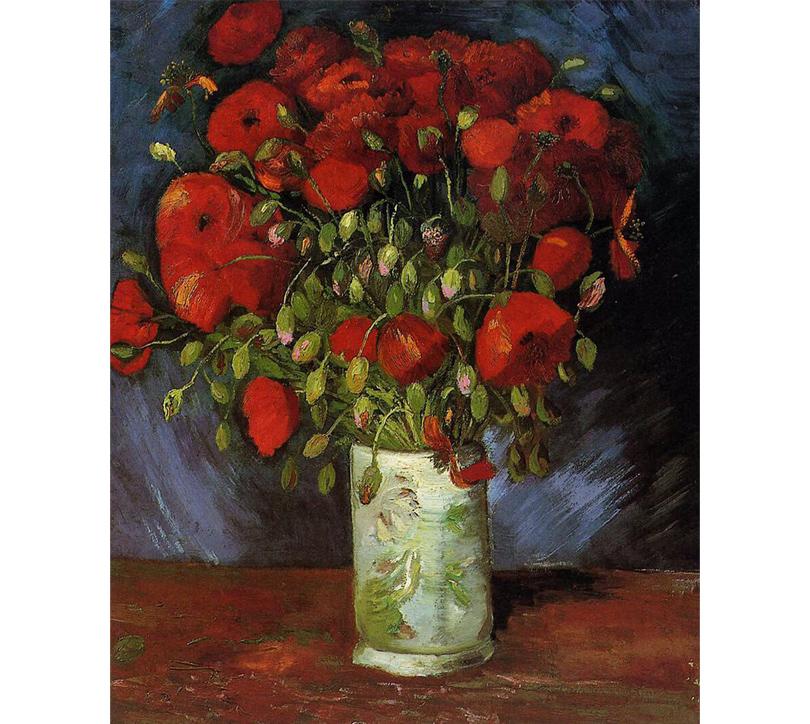 Картина Винсента Ван Гога «Маки»