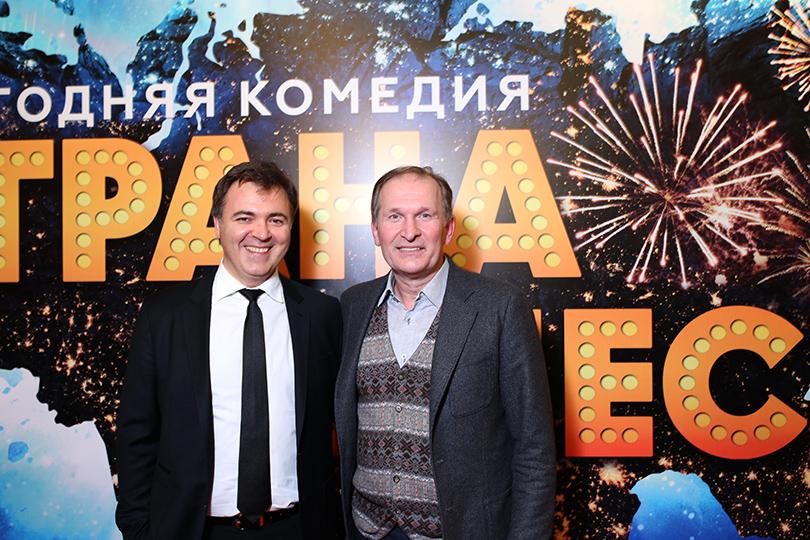 Дмитрий Дьяченко и Федор Добронравов