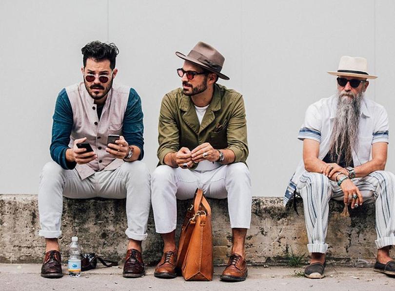 Men in Style: лучшие street-style образы выставки мужской моды Pitti Uomo