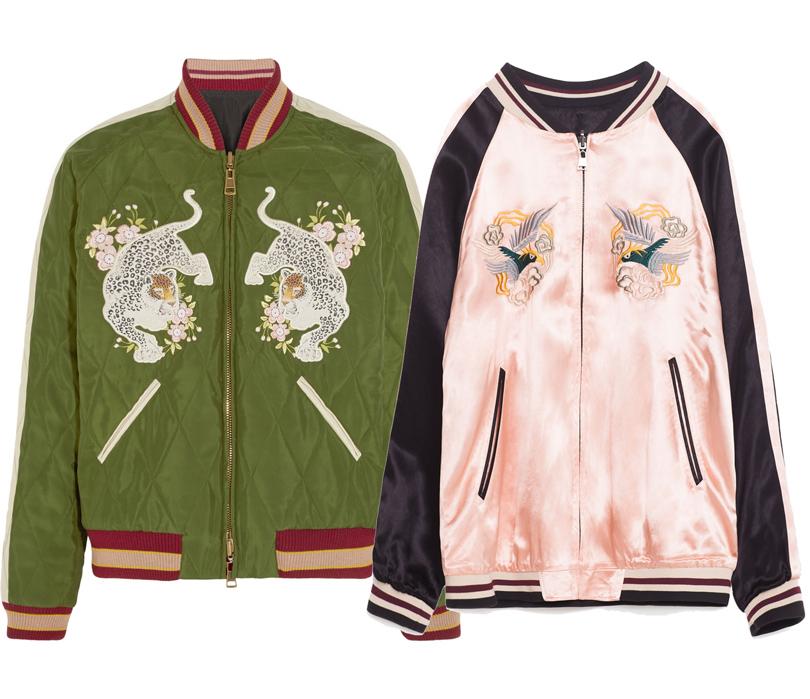 Мода и бизнес: найти десять отличий. Как масс-маркет «вдохновляется» люксовым сегментом. Двухсторонний бомбер Chloé VSдвухсторонний бомбер Zara