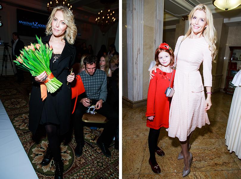 Дарья Михалкова, Анна Чурина с дочерью