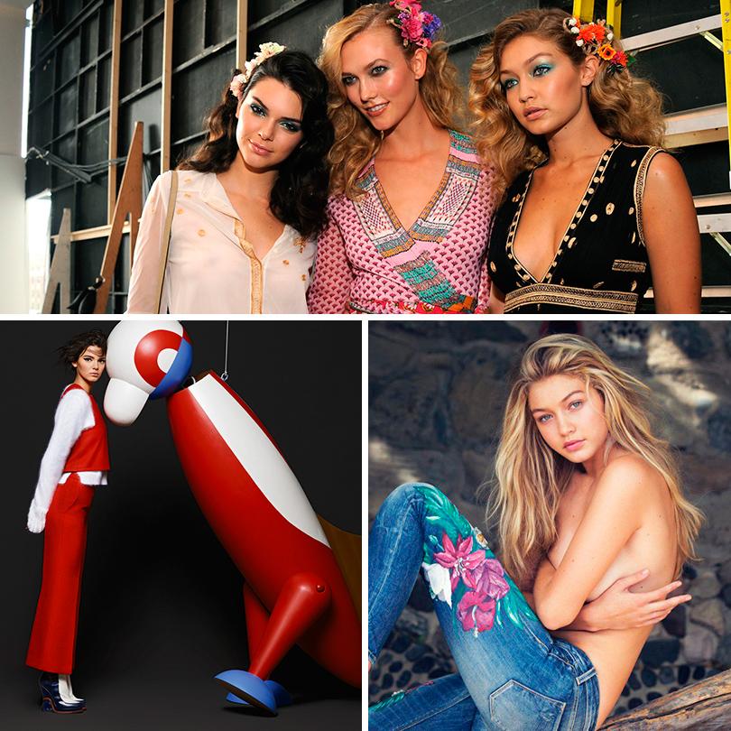 Новое поколение моделей: Кендалл Дженнер, Карли Клосс, Джиджи Хадид