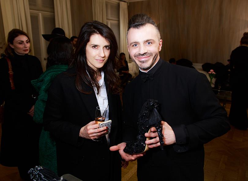 Ксения Соловьева и Александр Сирадекиан