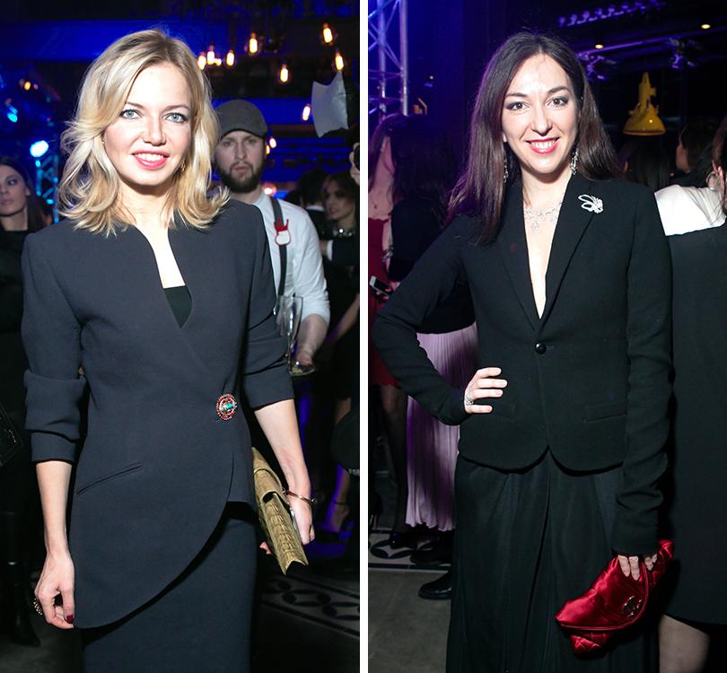 Вечер «100 самых стильных мужчин» по версии GQ: Анна Андронова. Мария Лобанова