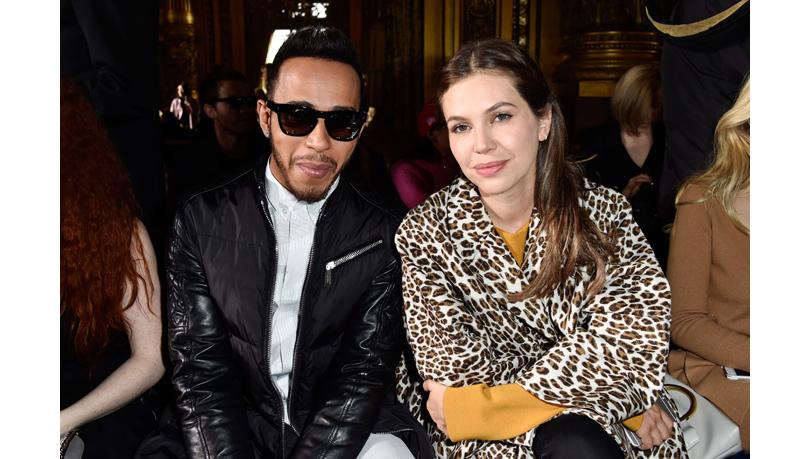 Звездные гости Недели моды в Париже, 2016: Льюис Хэмилтон и Дарья Жукова