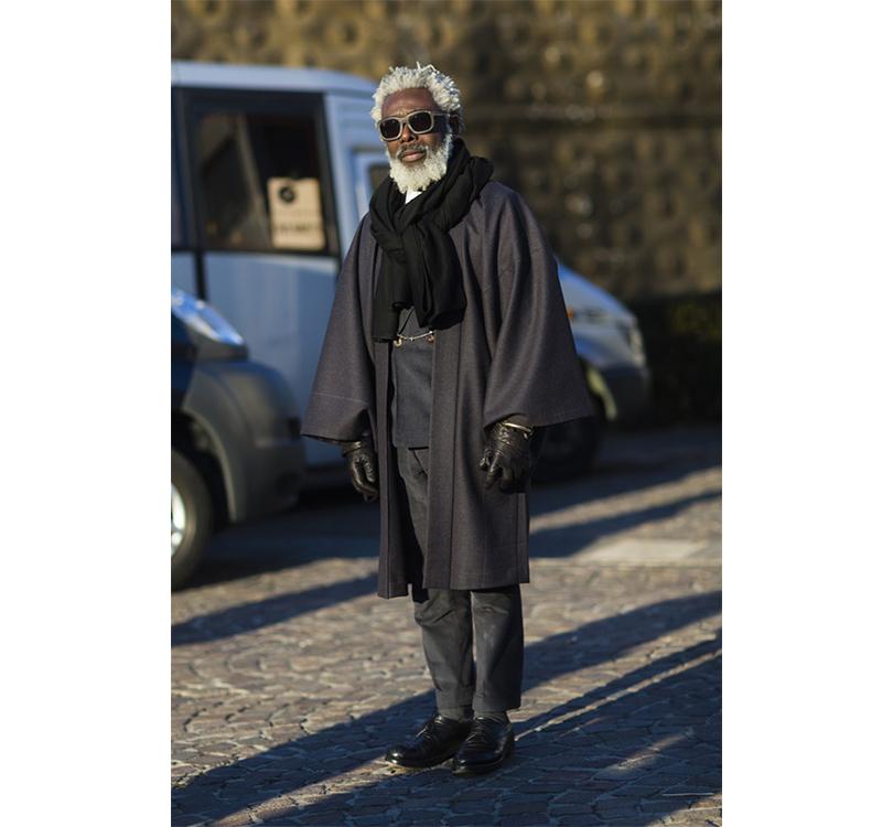 Men in Style: уличная мода на выставке Pitti Uomo. Основатель Men Need More Style Гийом Бо