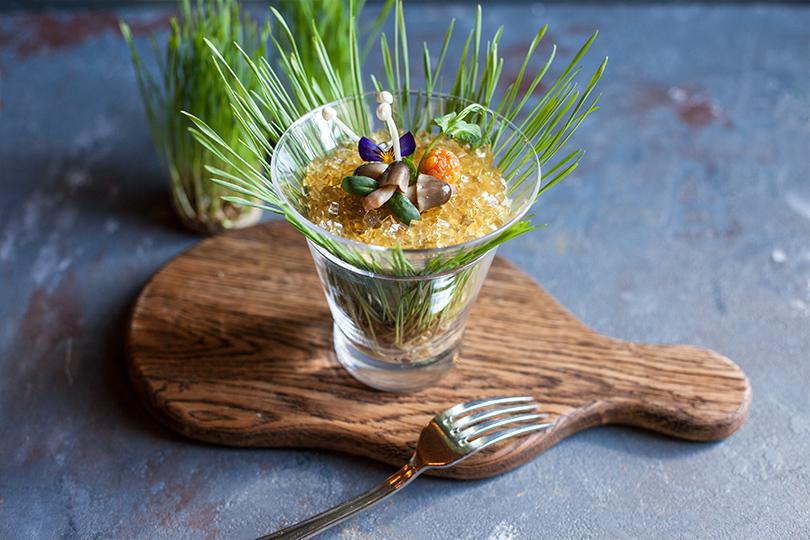 Грибная дюжина: что готовят вмосковских ресторанах избелых грибов. «Кафе Пушкинъ»