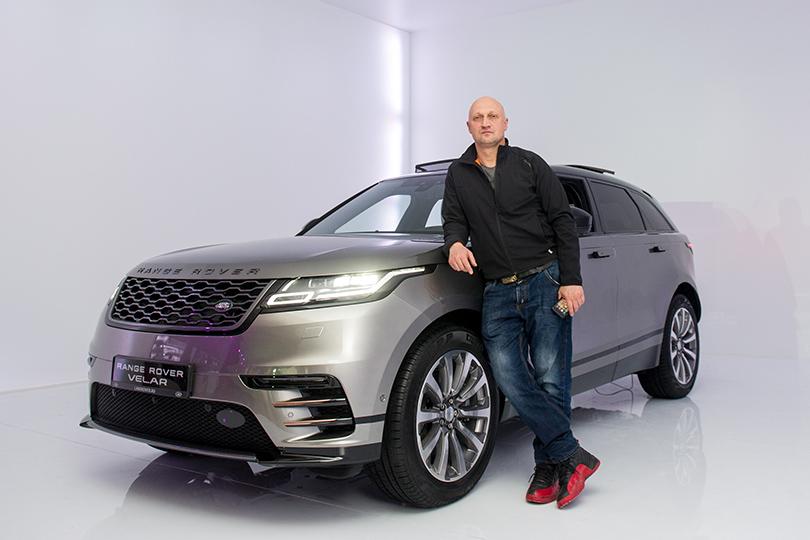 Российская премьера Range Rover Velar вМузее Москвы: Гоша Куценко