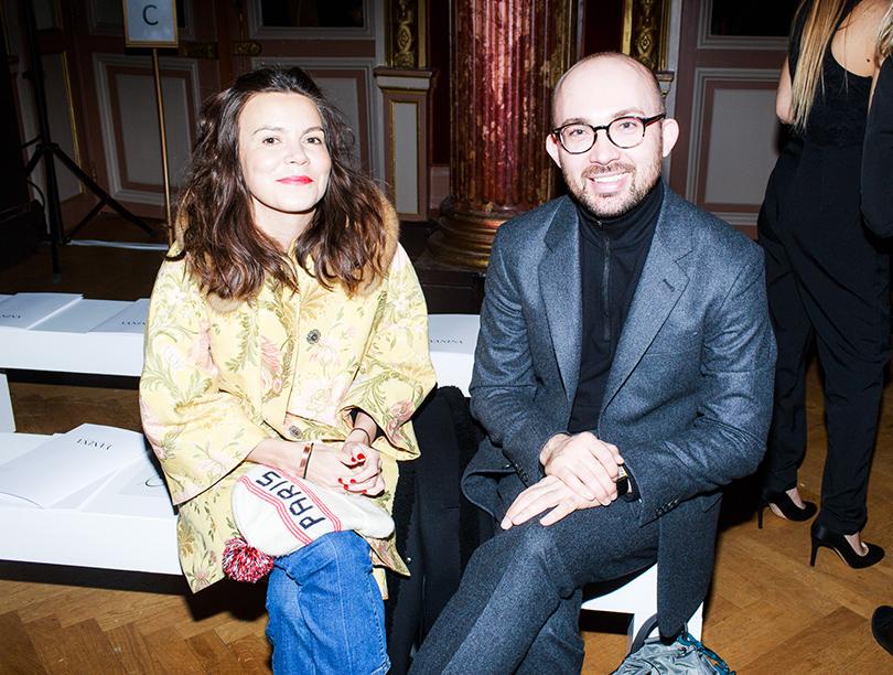 Vanity Fair с Марией Лобановой: Yanina Couture на Неделе высокой моды в Париже.  Наталья Туровникова и Виталий Козак