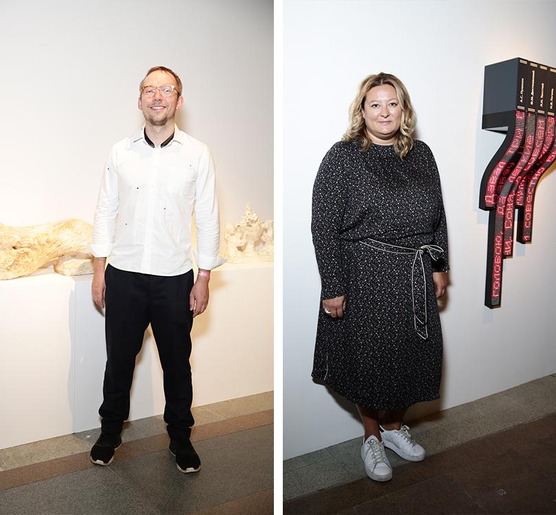 Светская хроника: открытие Cosmoscow. Современное искусство — это модно. Кирилл Белов, Мария Федорова