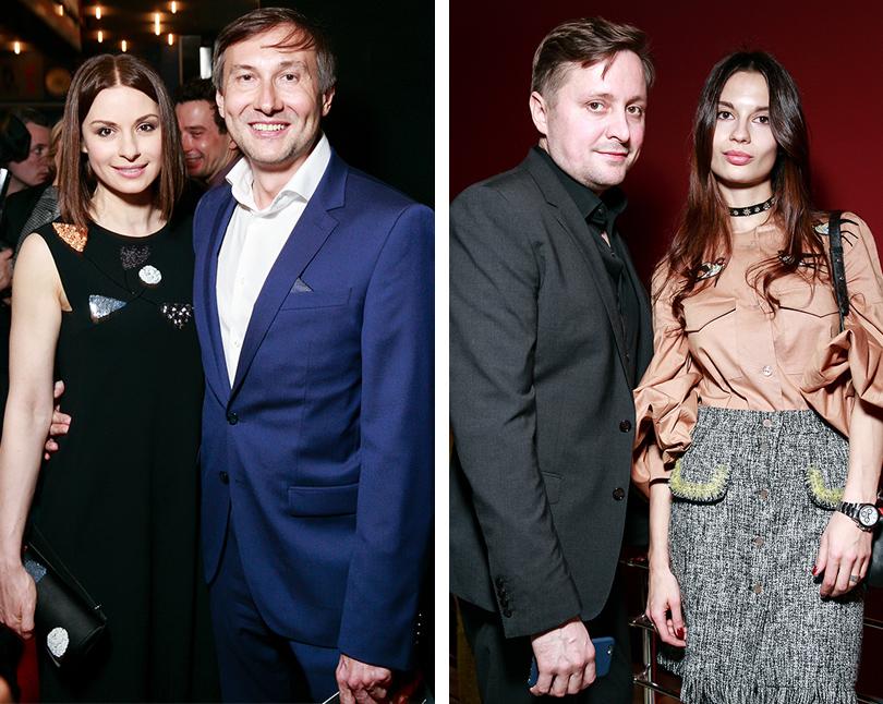Ирина Лачина и Николай Лебедев. Артем Михалков с подругой
