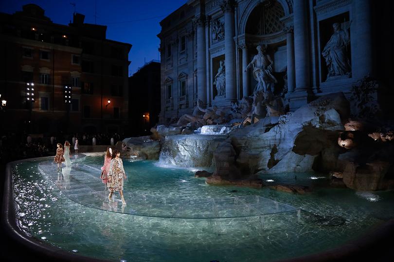 Style Notes: показ кутюрной коллекции Fendi в Риме