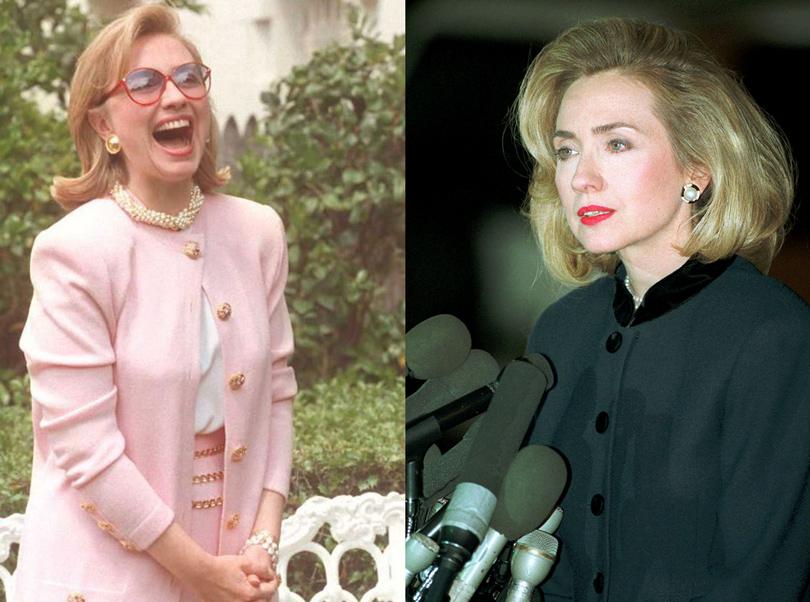Хиллари Клинтон (1995г. и 1996г.)