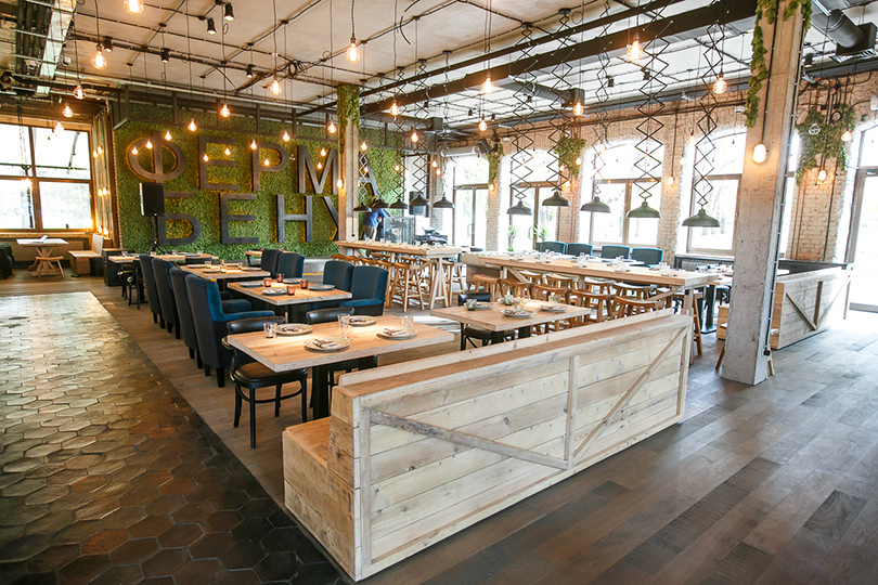 Выходные вгороде: что нового влучших ресторанах ибарах Санкт-Петербурга? «Ферма Бенуа»