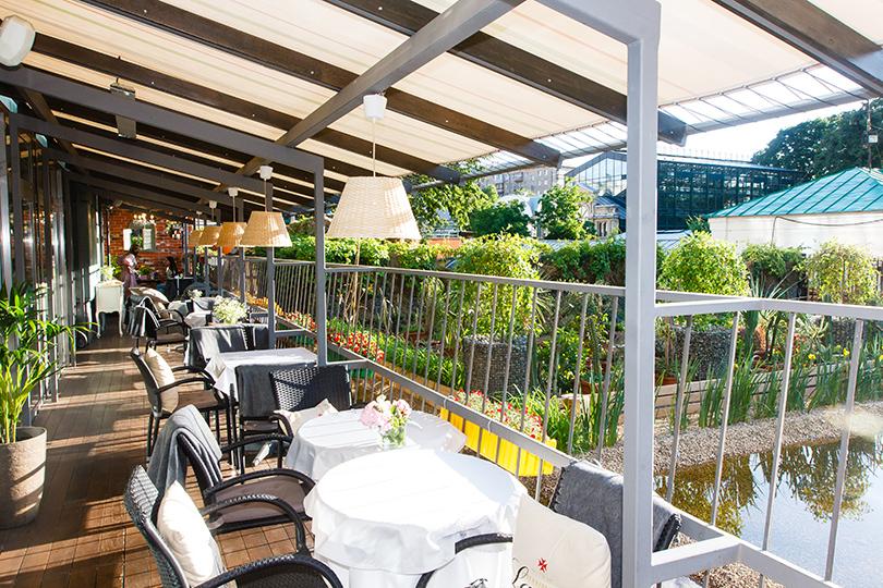 Выходные вгороде: летние веранды московских ресторанов. Ribambelle Green