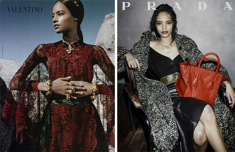 Мода и бизнес: новое поколение супермоделей. Малаика Ферт