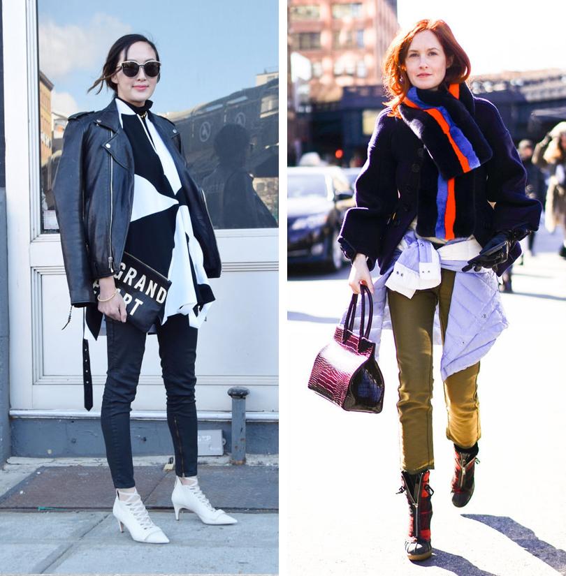 Лучшие образы на Неделе моды в Нью-Йорке: модный блогер Крисел Лим, Тейлор Томаси Хилл