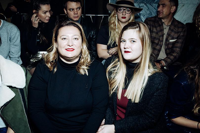 Style Notes: показ Alexander Terekhov SS 2017, или Зачем вся светская Москва спустилась в метро. Маша Федорова с дочкой Вероникой