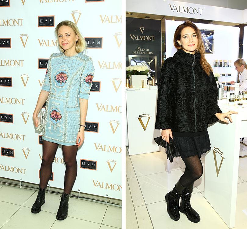 BeautyShopping: вЦУМе открыли корнер Valmont. Анжелика Тиманина. Екатерина Климова