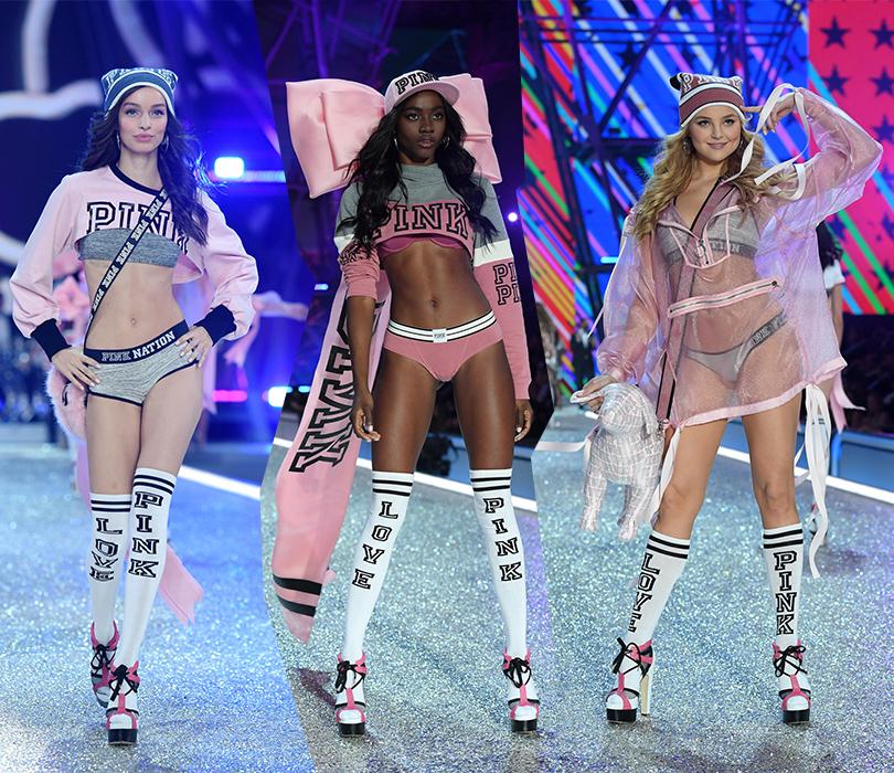 Style Notes: самые яркие моменты показа Victoria's Secret 2016. Лума Гроте, Зури Тибби и Рейчел Хилберт