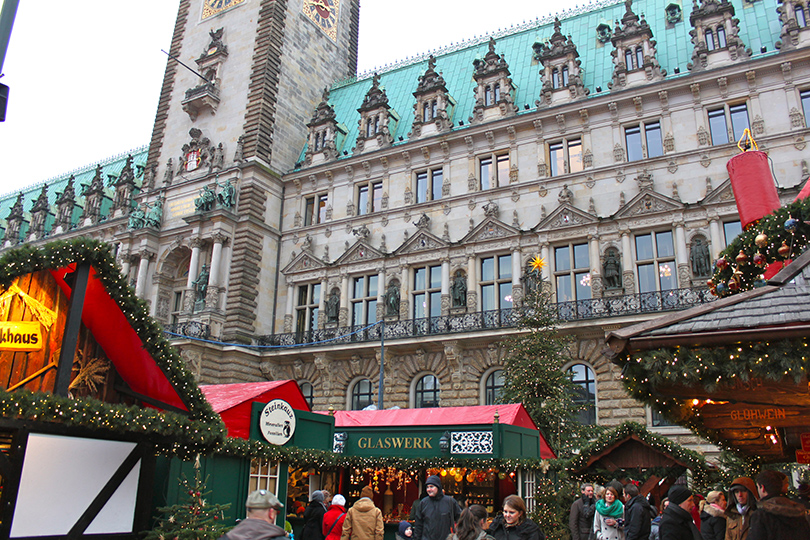 Самые лучшие рождественские базары Европы: Гамбург