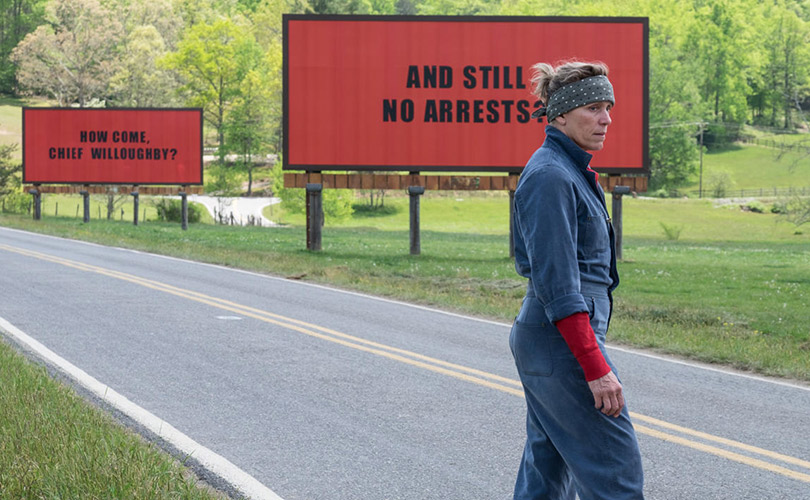 Драма «Три билборда на границе Эббинга, Миссури»