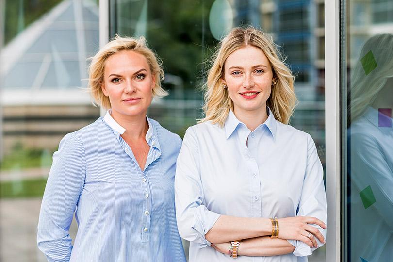 Виктория Боева и Татьяна Амарян