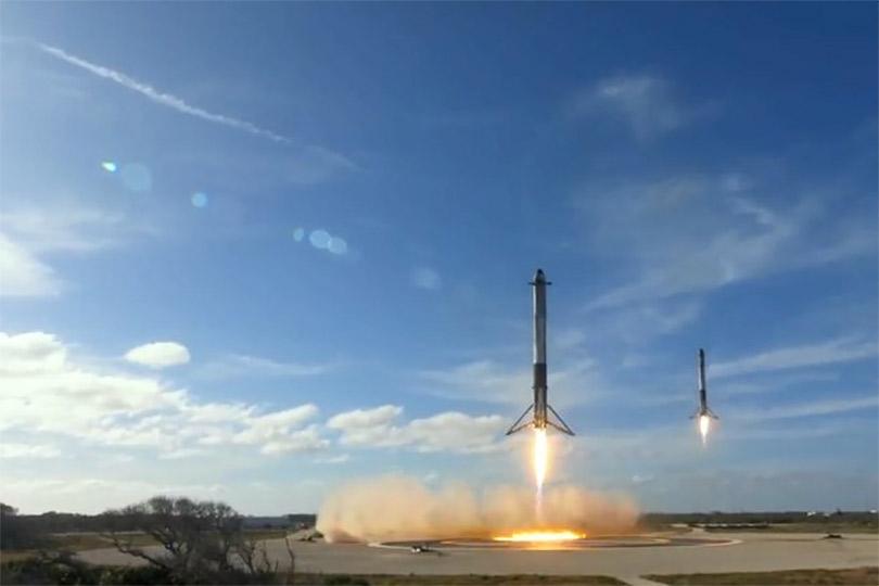 Tesla наорбите: компания Илона Маска SpaceX запустила вкосмос ракету савтомобилем наборту