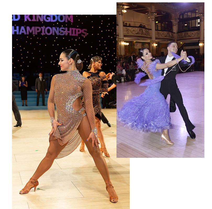 Юлия Прокип, двукратная чемпионка мира по спортивным танцам