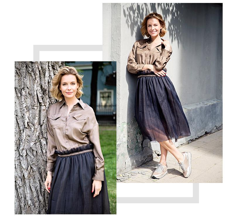 Любовь Толкалина, актриса, 40лет